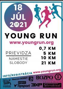 V Prievidzi sa pripravuje Unikátna bežecká akcia Young Run