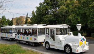 Dunajská Streda: Sezónny vláčik je už v prevádzke