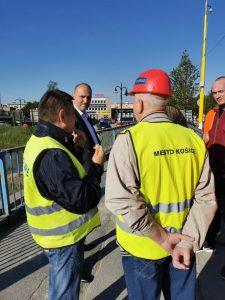 V pondelok sa začala rekonštrukcia mosta cez Hornád na Hlinkovej ulici