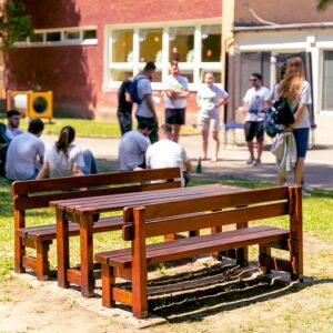 Projekt Naše Mesto pomohol skrášliť a opraviť detskú záhradu materskej školy