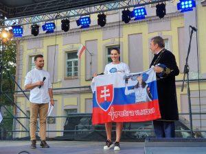Petre Vlhovej slávnostne odovzdali Čestné občianstvo mesta Liptovský Mikuláš